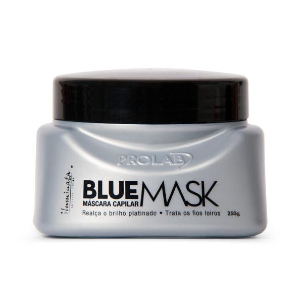 mascarilla capilar blue mask de Prolab Iluminata de 250 gr